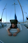 playin' with my new fisheye, the night before the big event!