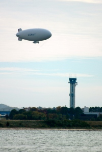 I don't know why, but blimps make us laugh!