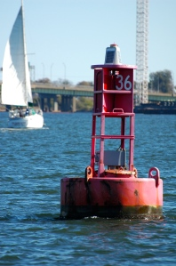 This is the official start of the Intracoastal Waterway (ICW.)