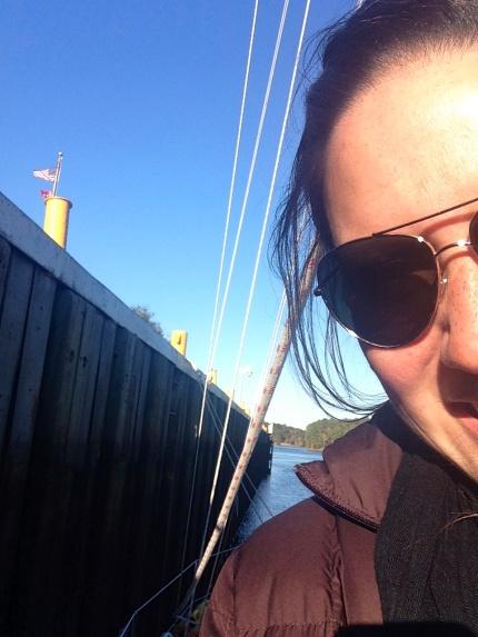 Me at Deep Creek Lock