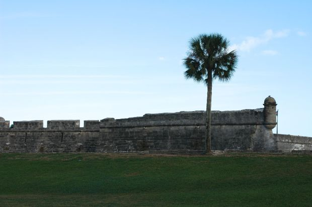 Visited the Castillo de San Marcos.  A very cool (and tough) fort that we saw as we were sailing into St. Augustine.