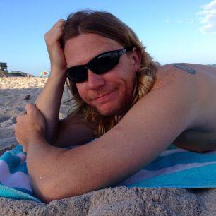 Jake at the beach.