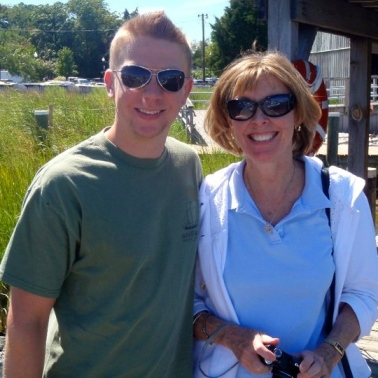 JR and his beautiful mom, Leslie (Solomons Island, MD, 2010)