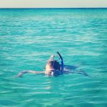 Jake finally busted out the snorkel on our last beach day in Bimini. He saw a couple little sheepsheads and a parrotfish.