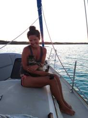 Me and my boo at sunset.