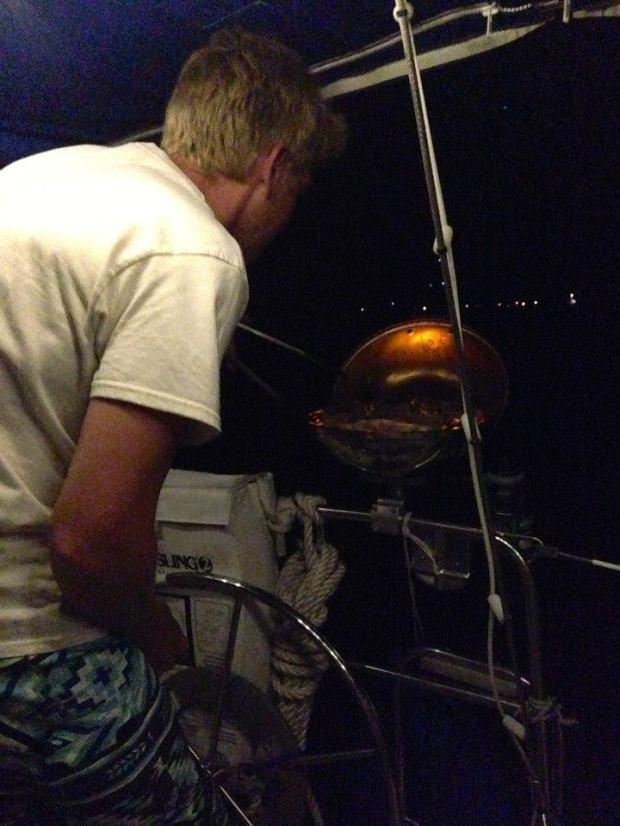 Jake grillin'!