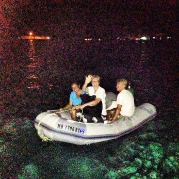 The last dinghy ride :(