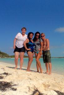 Us at Sand Dollar Beach.