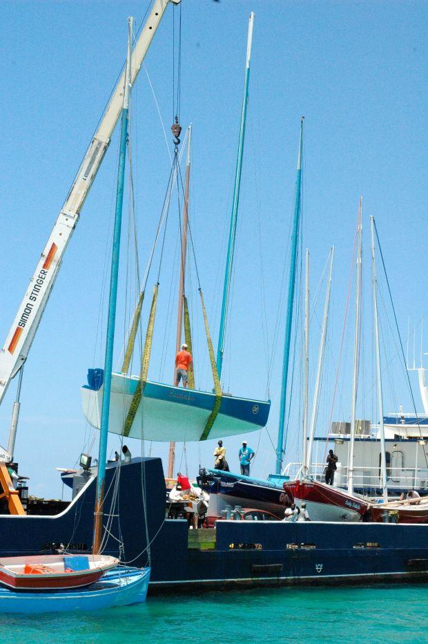unload boats