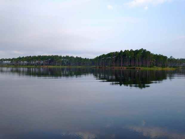 The gorgeous anchorage in Broad Creek, NC.  This was the morning we crossed to Ocracoke <3