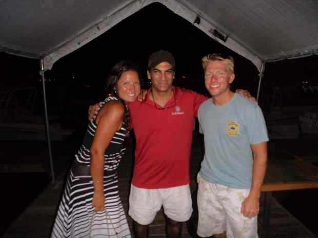 Our friend, Marc.  We met him in Staniel Cay and tracked him down again in Ft. Lauderdale.  Good story, ask us about it ;)