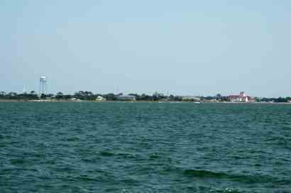Ocracoke from afar!