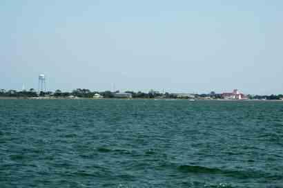 Ocracoke from afar!