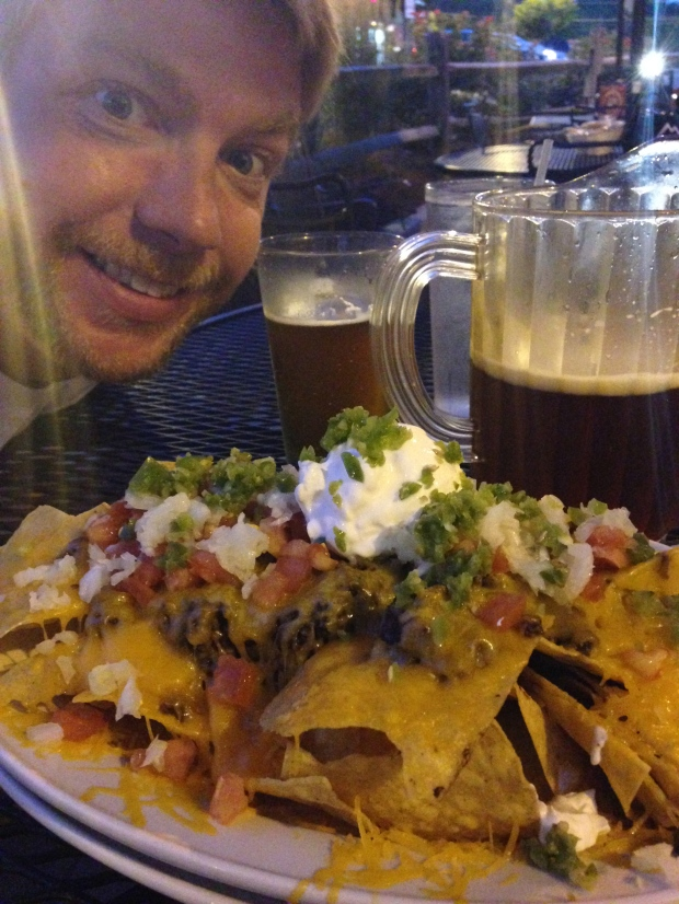The food we missed the most?  Texas nachos from Hard Times Cafe.