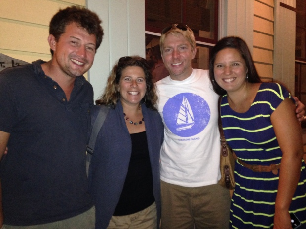Met up with these fine folks in Annapolis.  Sea Major is on the market, as Natalie has a little sailor-bun in the oven!
