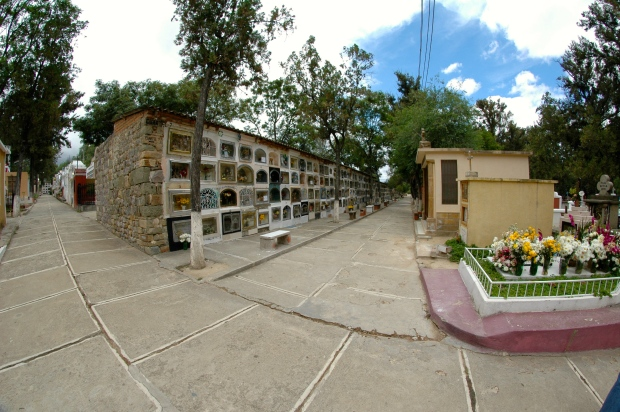 Tarija - The very beautiful cemetery in Tarija.  This is truly one of my favorite places in the whole world.