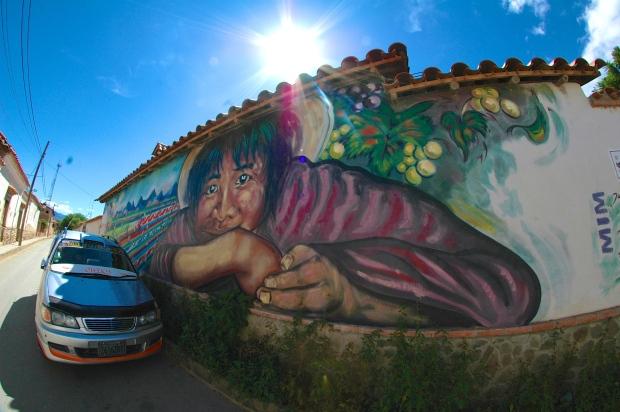 Mural near Casa Vieja.