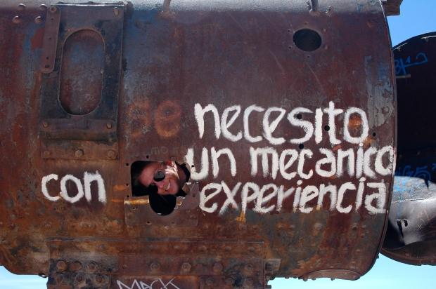 "Uyuni - ""We need a mechanic with experience."""