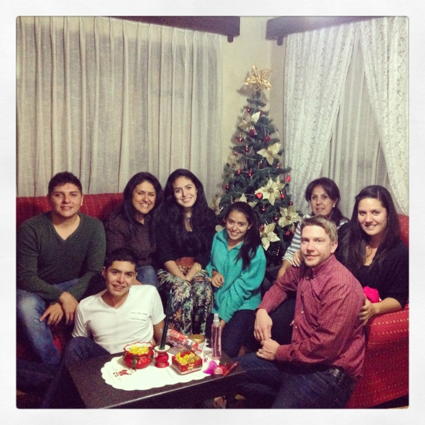 Some of our beautiful family on Christmas Eve. Cousins, cousins, and more cousins!