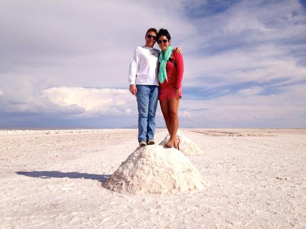 Piles of salt.  Good for...